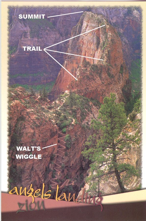 Angels landing in zion national park check